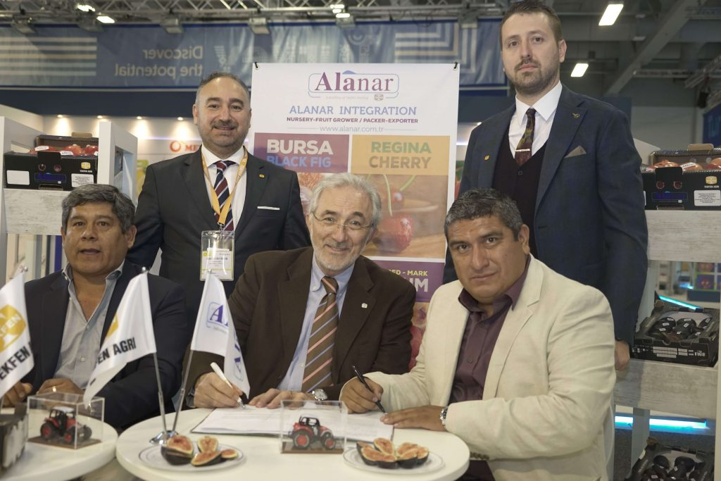Overseas Cooperation from Alanar Fruit